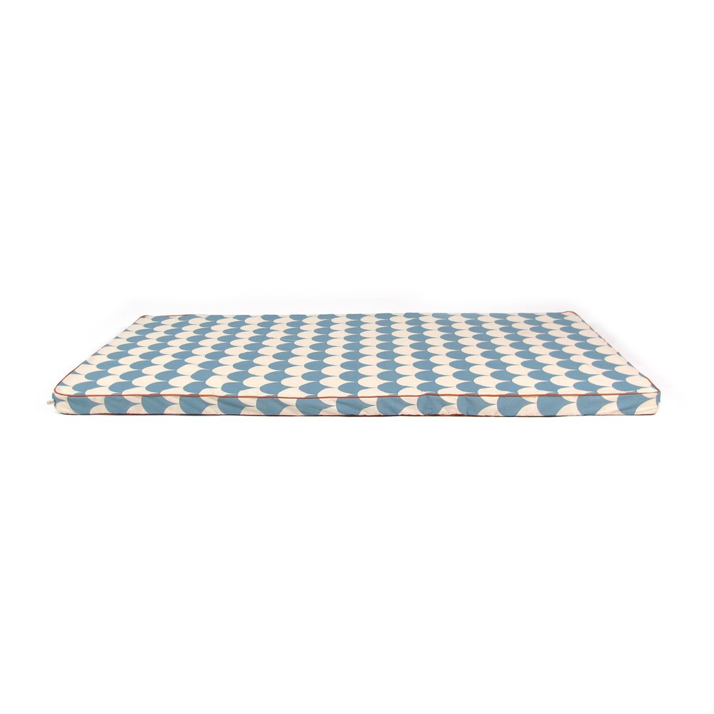 matelas saint tropez cailles bleu nobodinoz design enfant. Black Bedroom Furniture Sets. Home Design Ideas