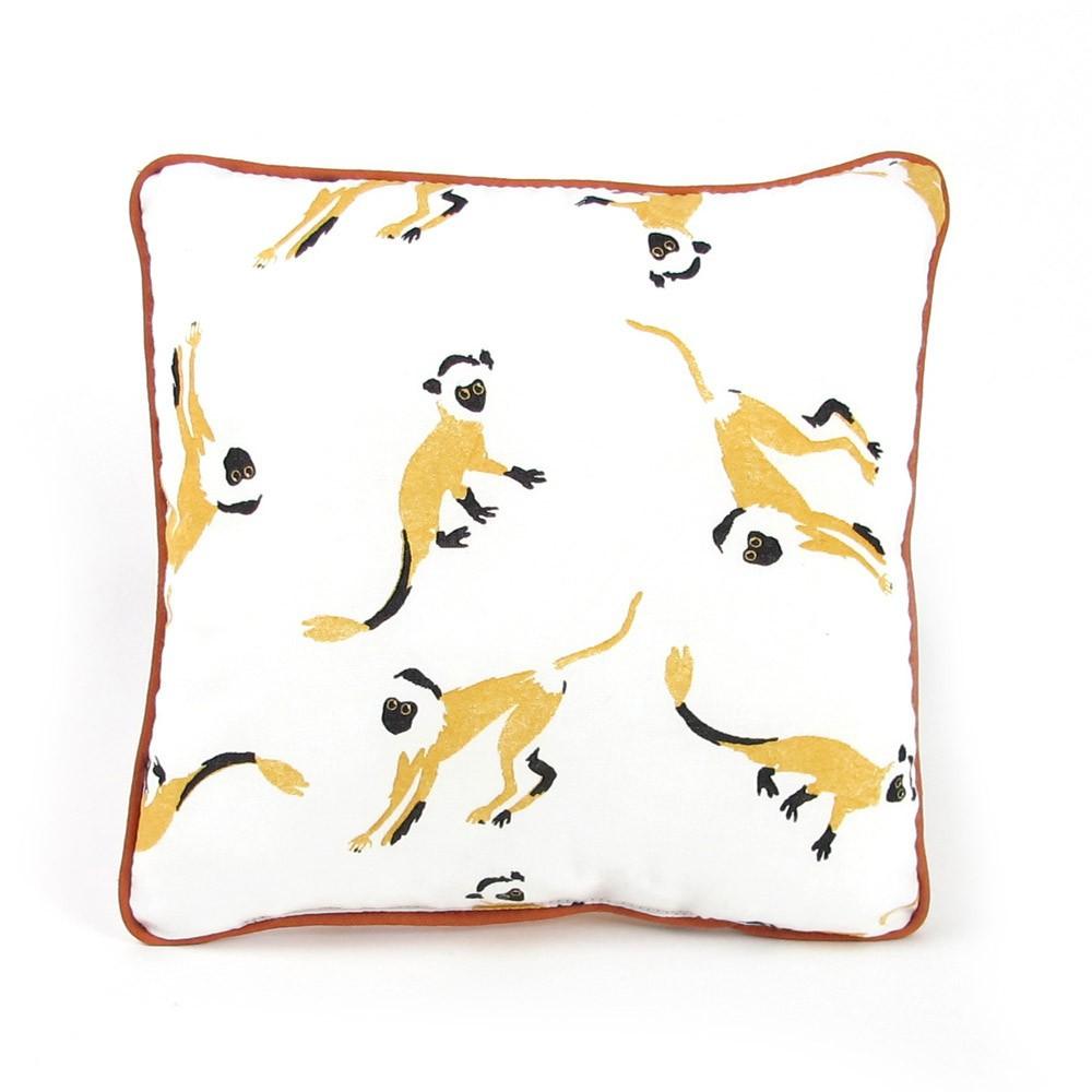 kissen kleine affen gelb nobodinoz design kind. Black Bedroom Furniture Sets. Home Design Ideas