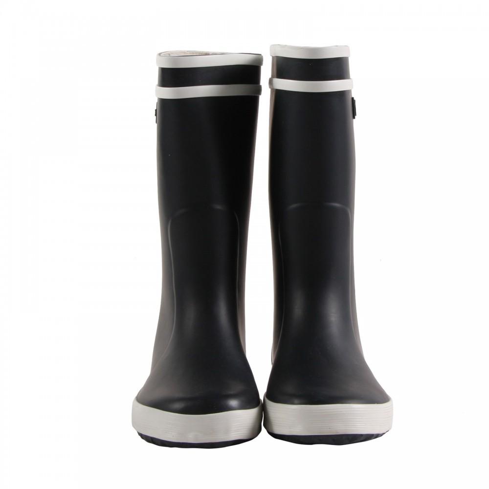 Bottes de pluie lolly pop bleu marine aigle chaussure adolescent - Bottes de pluie aigle ...