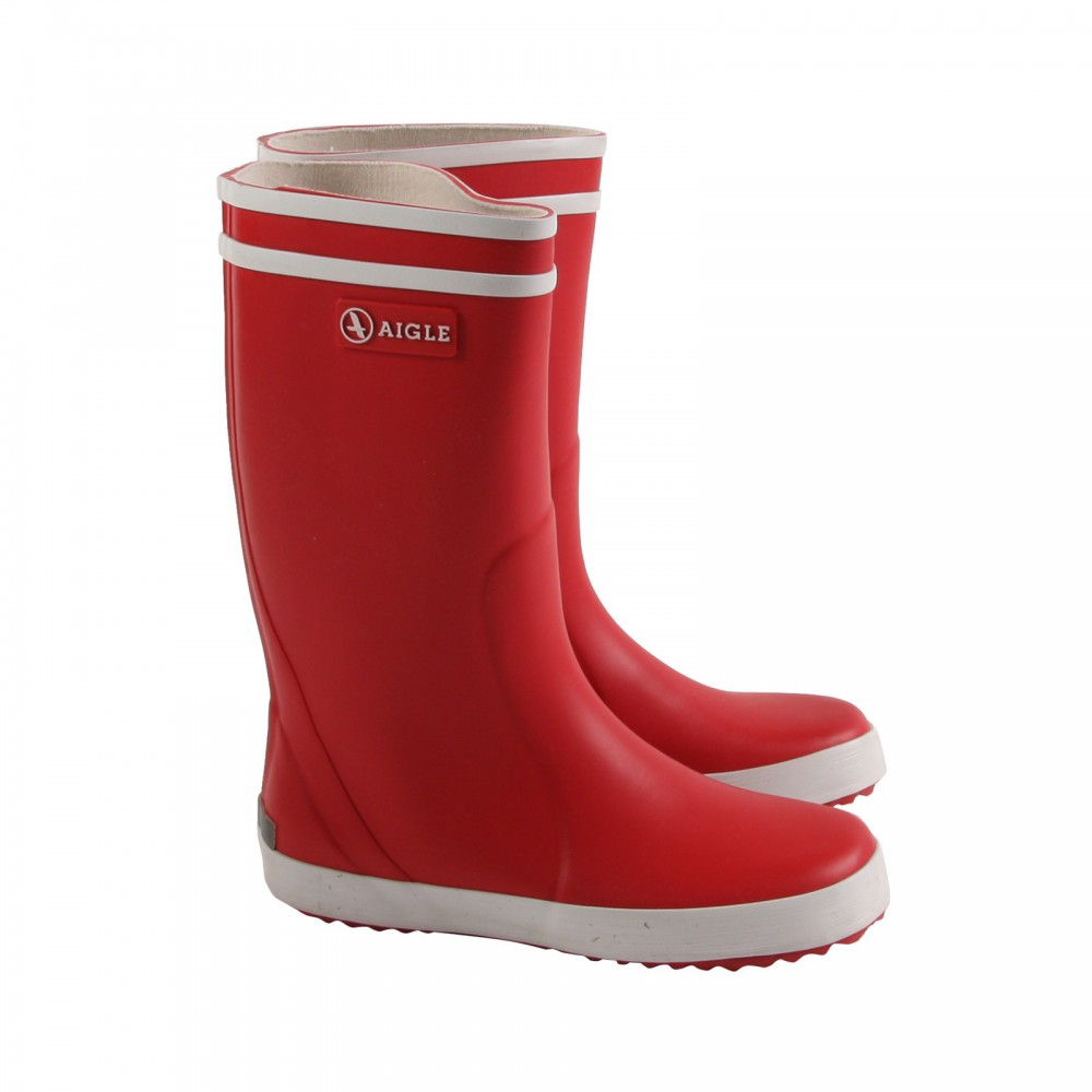 bottes de pluie lolly pop rouge aigle chaussure enfant. Black Bedroom Furniture Sets. Home Design Ideas