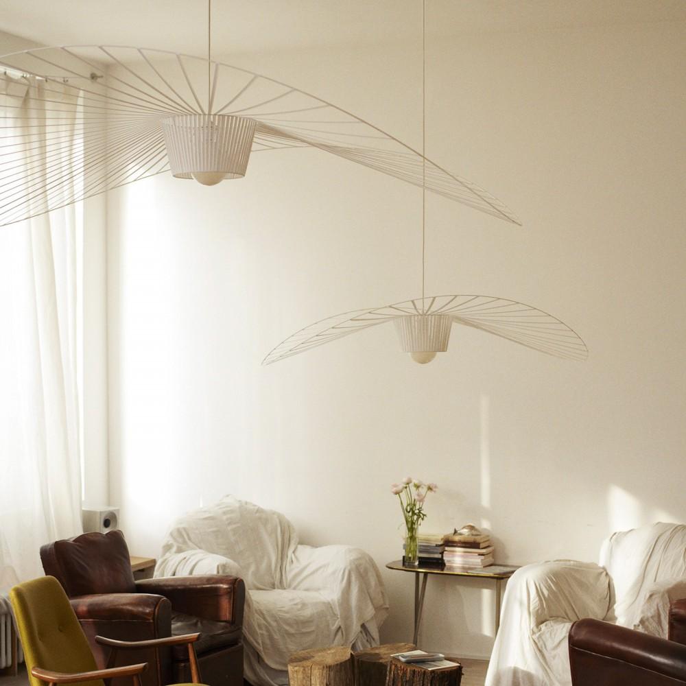 lampadario vertigo large bianco petite friture design adulto. Black Bedroom Furniture Sets. Home Design Ideas