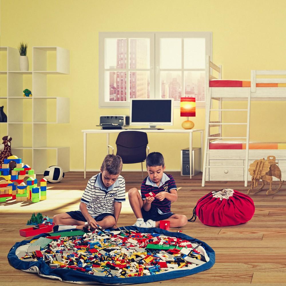 sac tapis de jeux ancres bleu play and go jouet et loisir. Black Bedroom Furniture Sets. Home Design Ideas