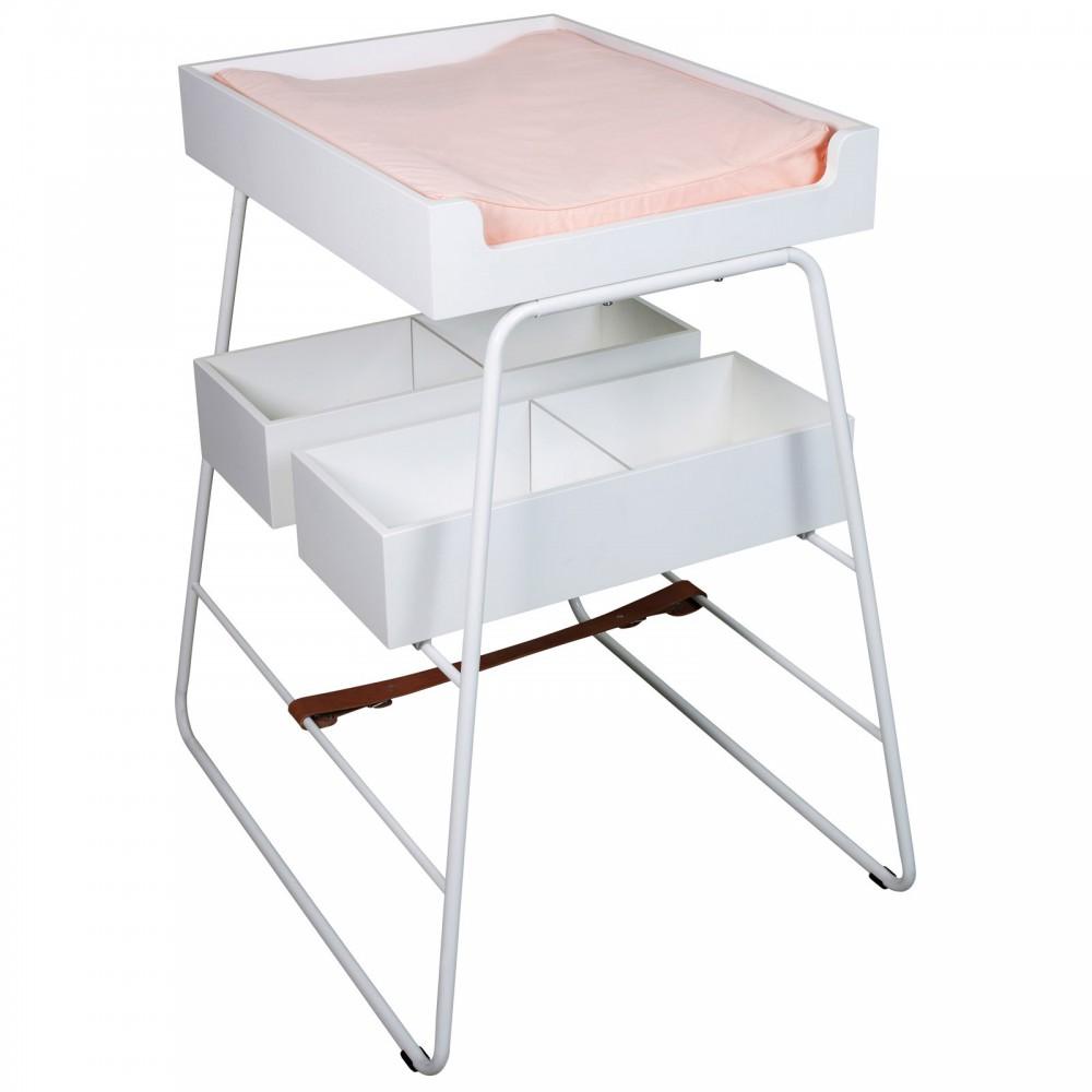 Matelas langer rose p che budtzbendix design b b for Table a langer haute