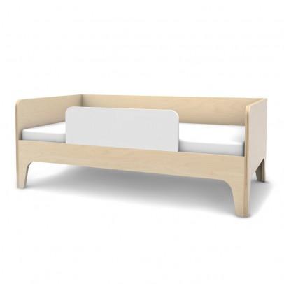 Lit junior cabane 80x160 cm naturel kutikai design enfant - Banquette lit extensible ...
