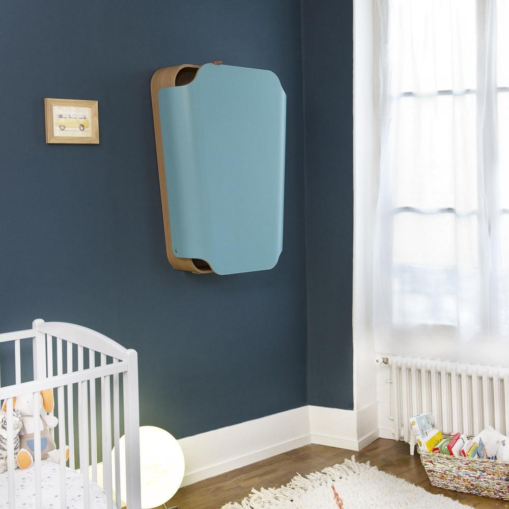noga wickeltisch t rkisblau charlie crane design baby. Black Bedroom Furniture Sets. Home Design Ideas