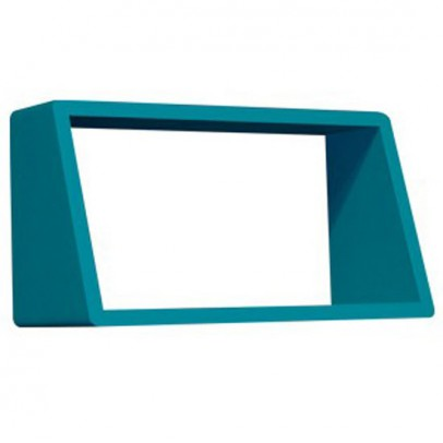 Etag res babou 3 tag res 66 cm rose p le rose in april - Etagere murale bleu turquoise ...