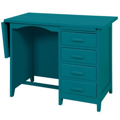 biblioth que 39 la folie 39 bleu canard laurette design enfant. Black Bedroom Furniture Sets. Home Design Ideas