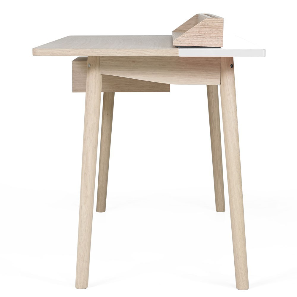 Bureau honor blanc hart design adulte for Bureau blanc adulte