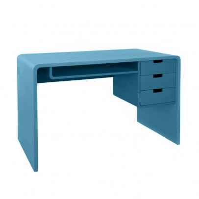 table de chevet zzz gris fonc laurette design adolescent. Black Bedroom Furniture Sets. Home Design Ideas
