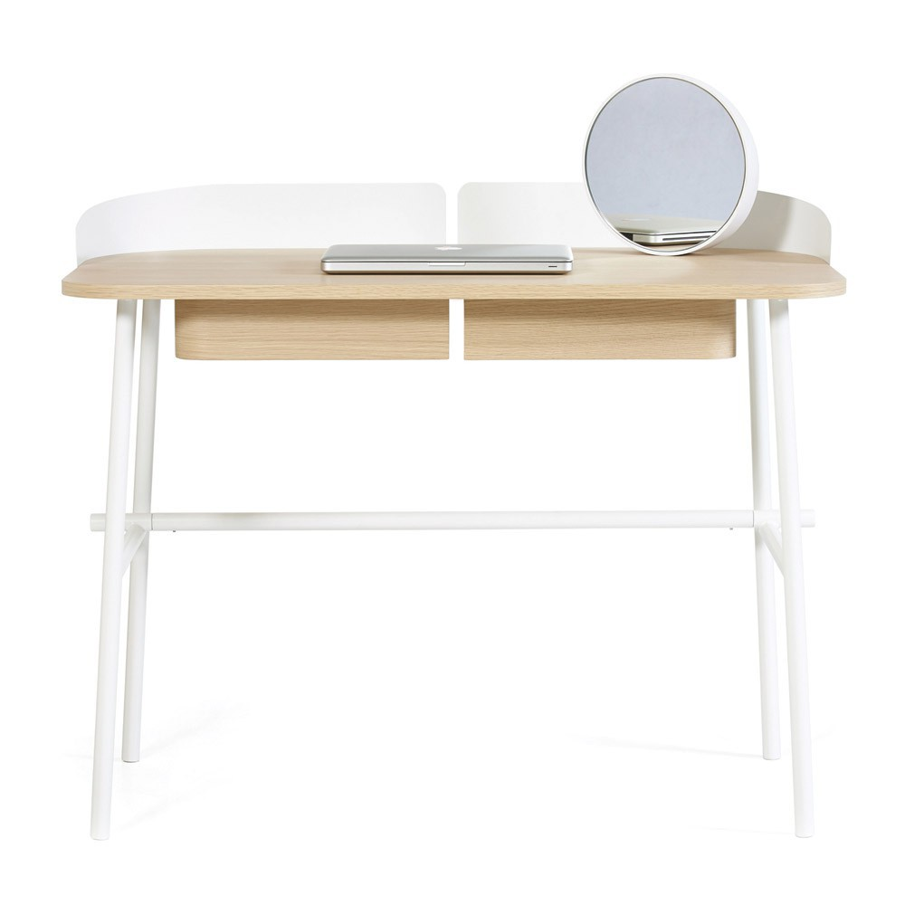 Bureau victor blanc hart design adulte for Bureau blanc adulte