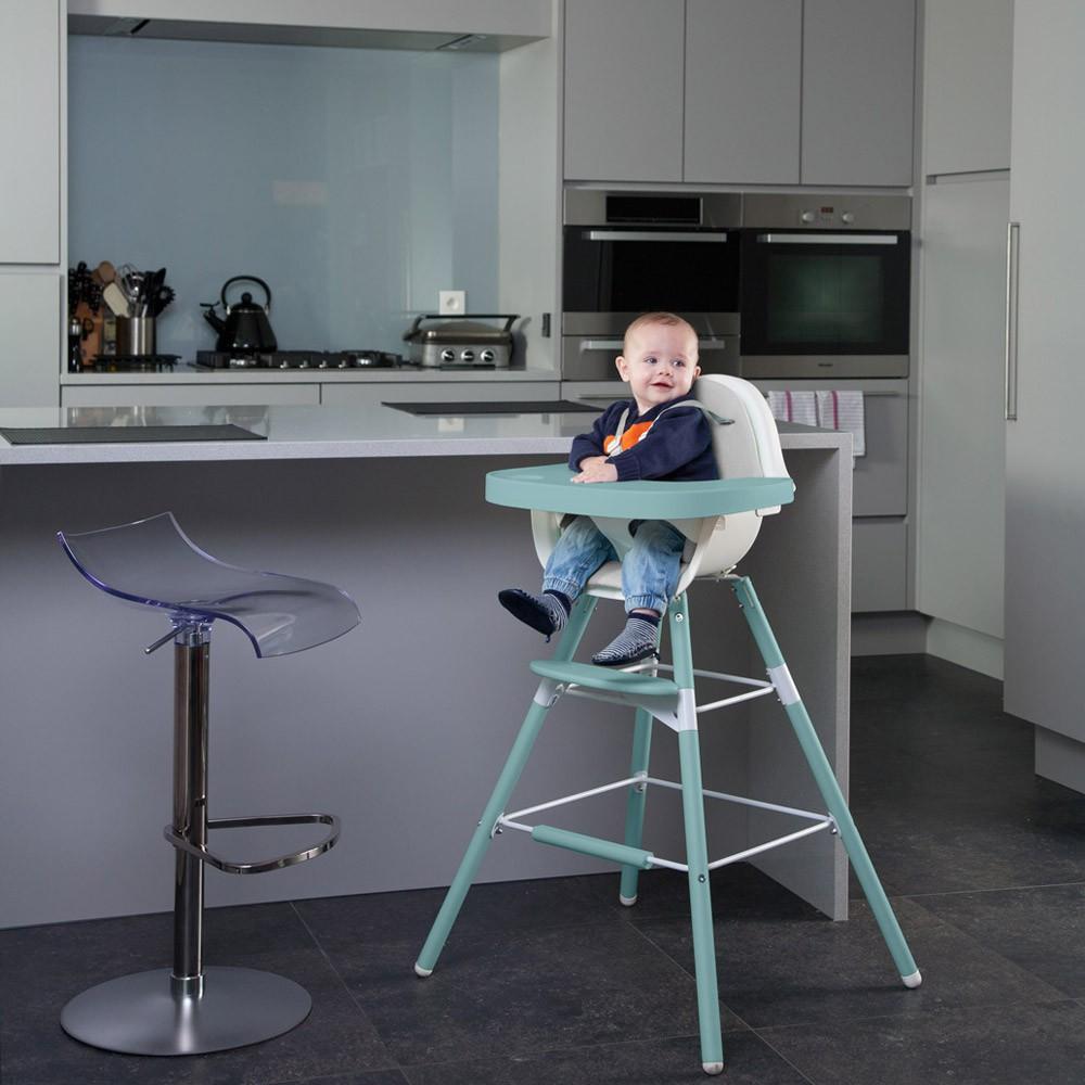 Evolu Transforming High Chair White Jade Childwood Design Baby