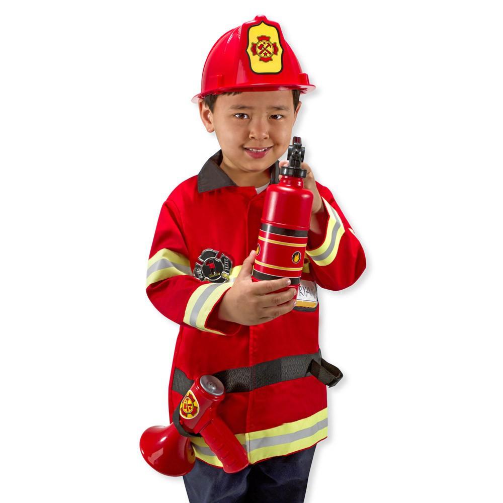 costume de pompier melissa doug jouet et loisir enfant. Black Bedroom Furniture Sets. Home Design Ideas