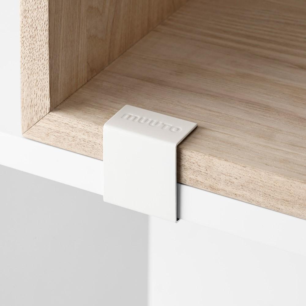 module de rangement avec fond medium gris fonc muuto design. Black Bedroom Furniture Sets. Home Design Ideas