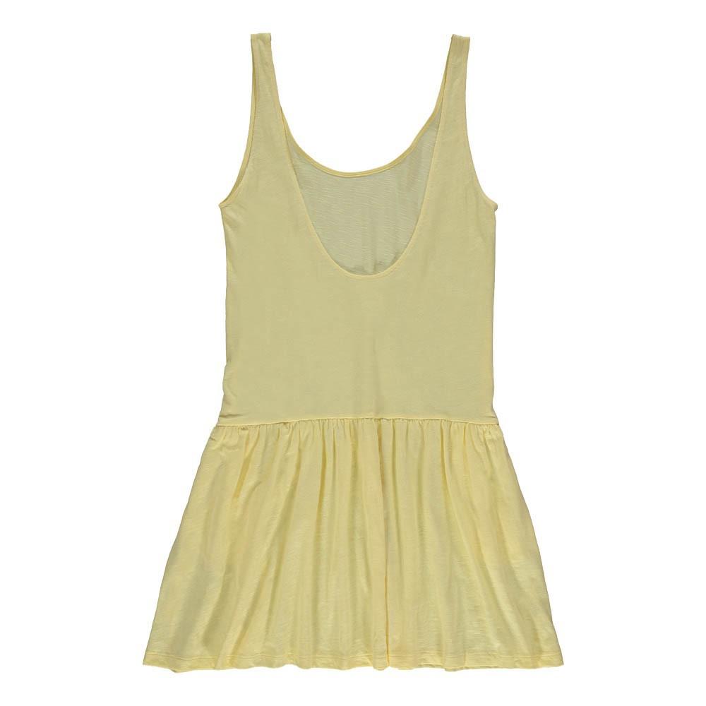robe dos echancr hastuce jaune des petits hauts mode adulte. Black Bedroom Furniture Sets. Home Design Ideas