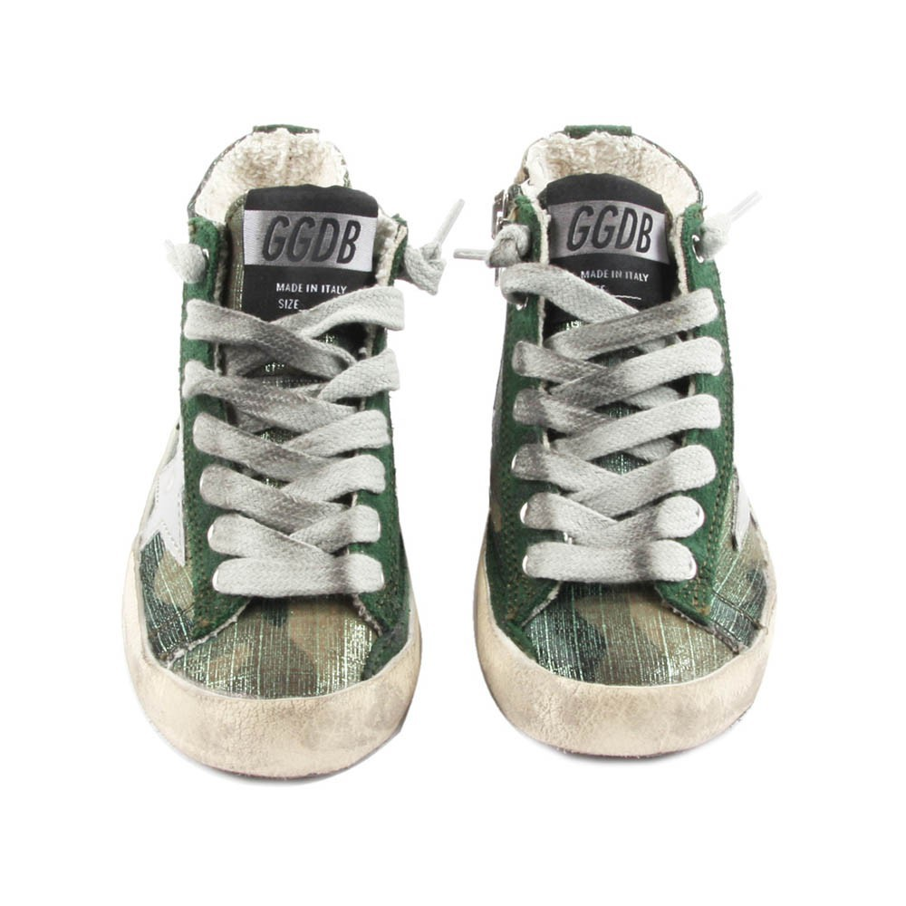 Golden Goose Camouflage Sneakers
