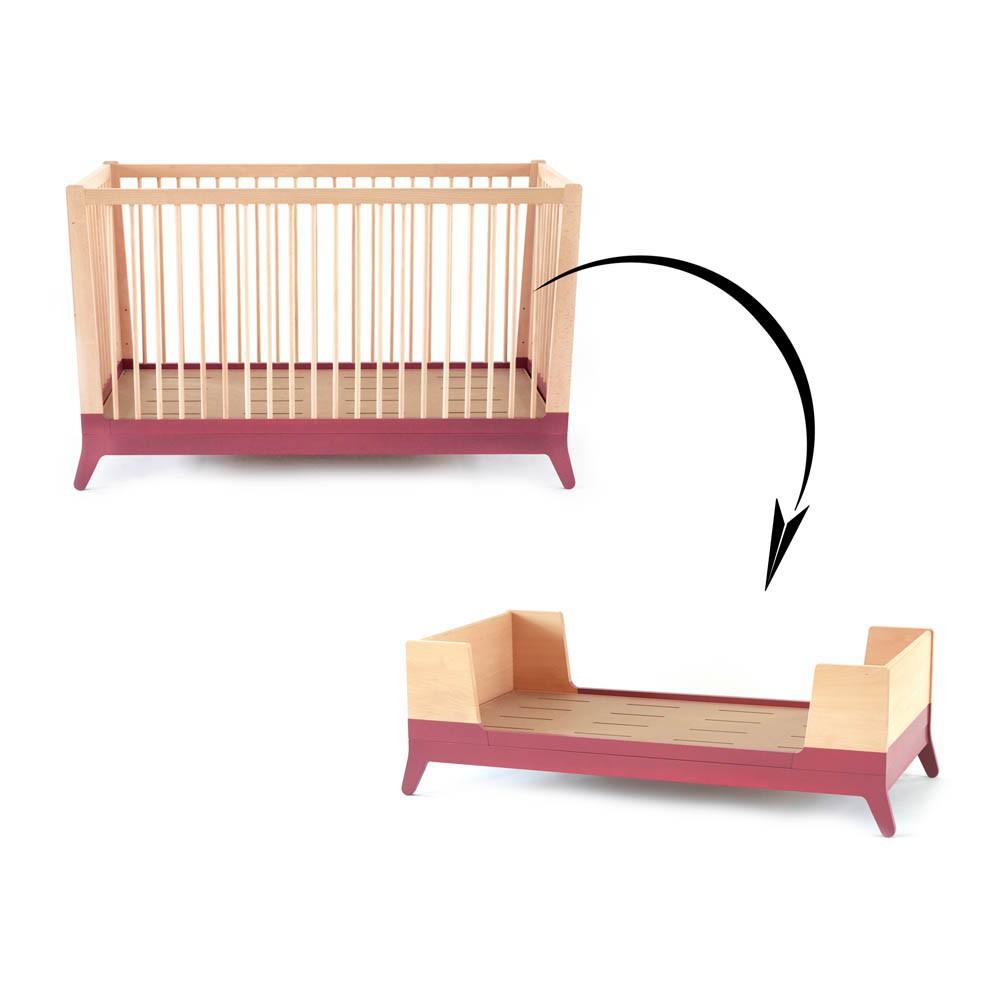 kit volutif pour lit b b nobodinoz design b b enfant. Black Bedroom Furniture Sets. Home Design Ideas