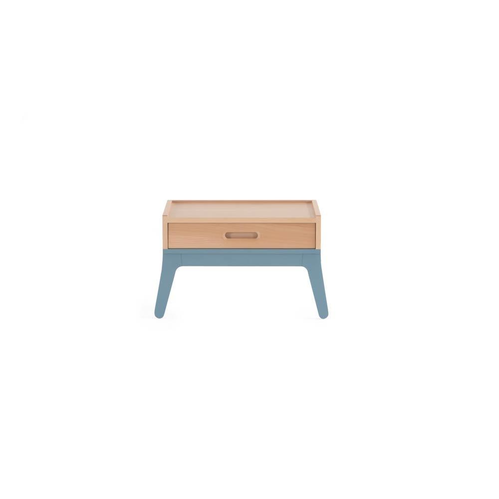 table de nuit bleu nobodinoz design enfant. Black Bedroom Furniture Sets. Home Design Ideas
