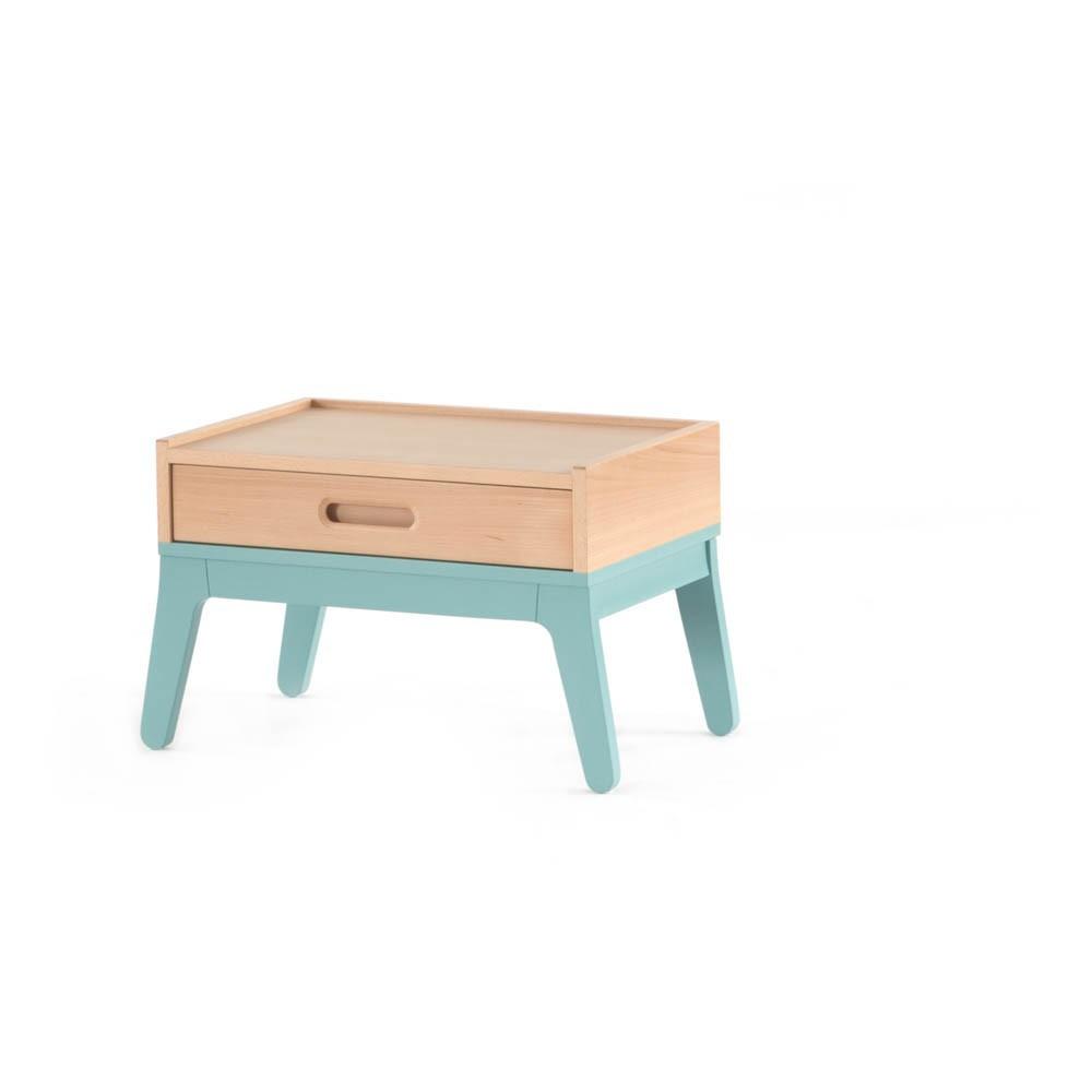 Table De Nuit Vert D 39 Eau Nobodinoz Design Enfant