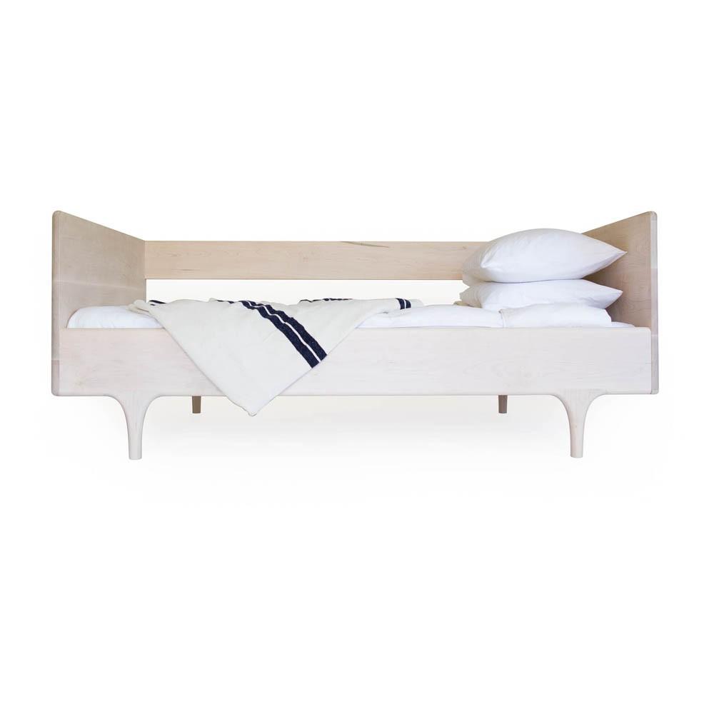lit 1 personne avec sommier 90x200 cm caravan naturel naturel. Black Bedroom Furniture Sets. Home Design Ideas