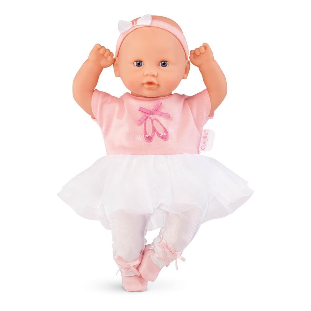 mon premier poup e b b calin danseuse rose corolle jouet et. Black Bedroom Furniture Sets. Home Design Ideas