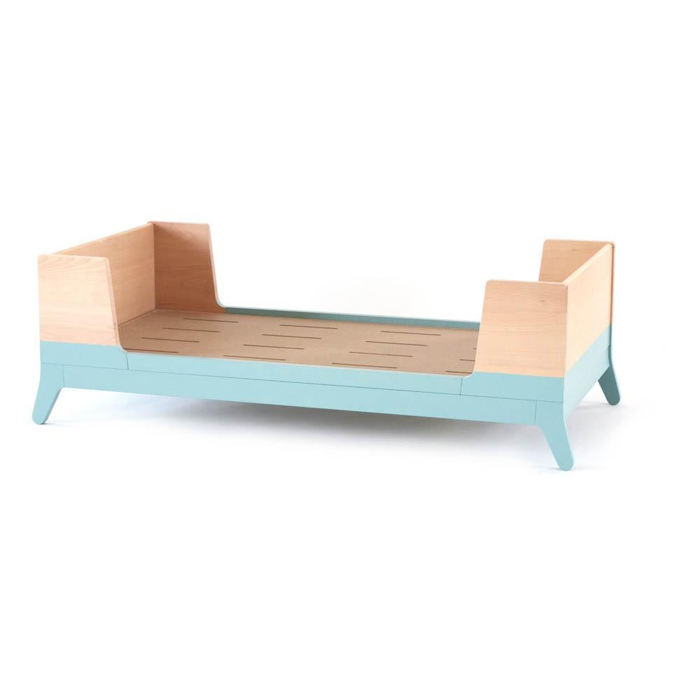 lit junior vert d 39 eau nobodinoz design enfant. Black Bedroom Furniture Sets. Home Design Ideas