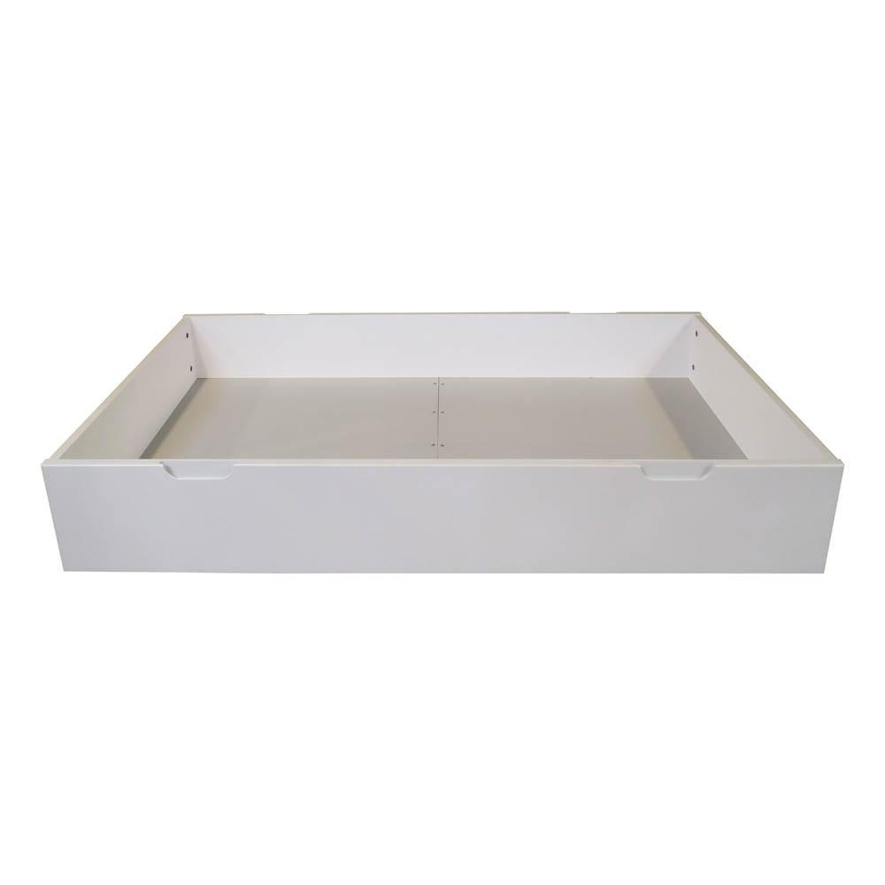 lit tiroir joy volutif 70x140 cm blanc quax design enfant. Black Bedroom Furniture Sets. Home Design Ideas