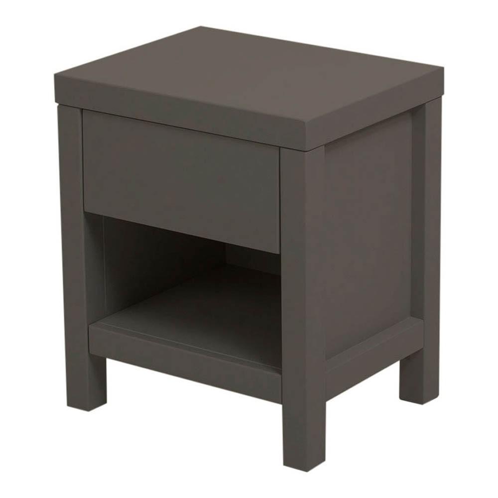 table de nuit joy gris fonc quax design enfant. Black Bedroom Furniture Sets. Home Design Ideas
