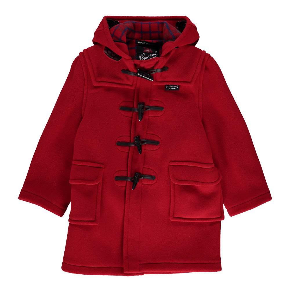 duffle coat rouge gloverall mode adolescent enfant. Black Bedroom Furniture Sets. Home Design Ideas