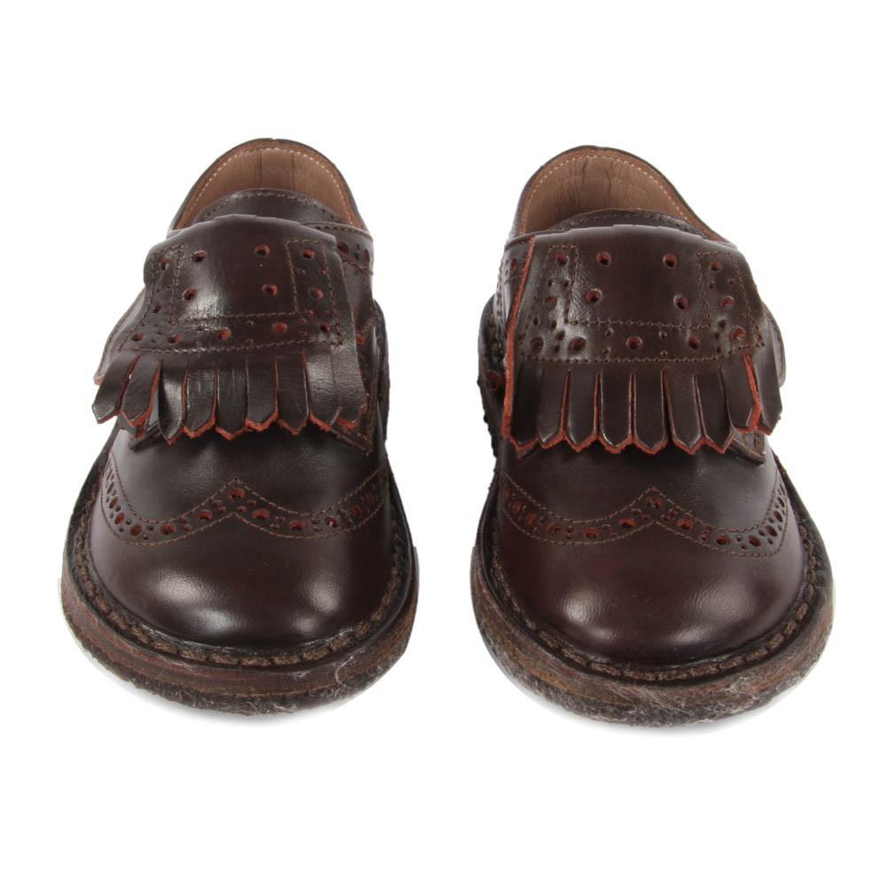 derbies cuir velcro franges bordeaux p p chaussure. Black Bedroom Furniture Sets. Home Design Ideas