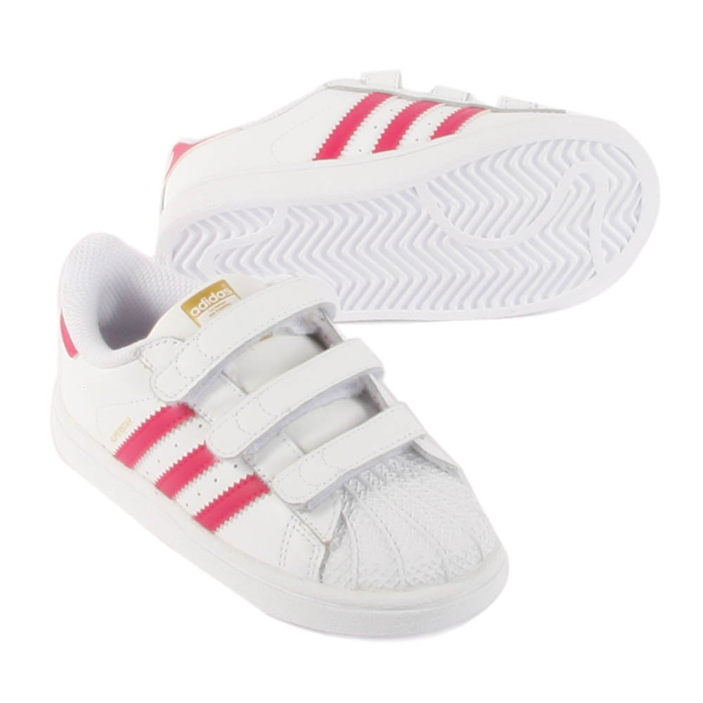 Black and white flower superstar adidas For women