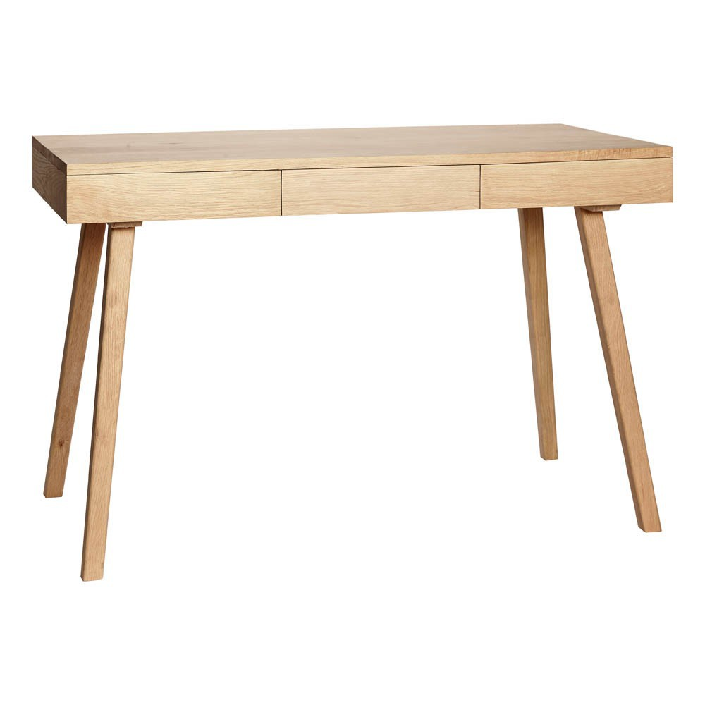 bureau 3 tiroirs naturel h bsch design enfant