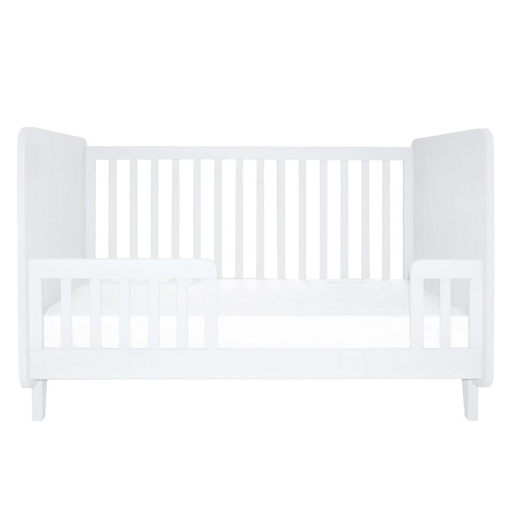 bett umbausatz herz befestigung 70x140 cm wei wei laurette. Black Bedroom Furniture Sets. Home Design Ideas