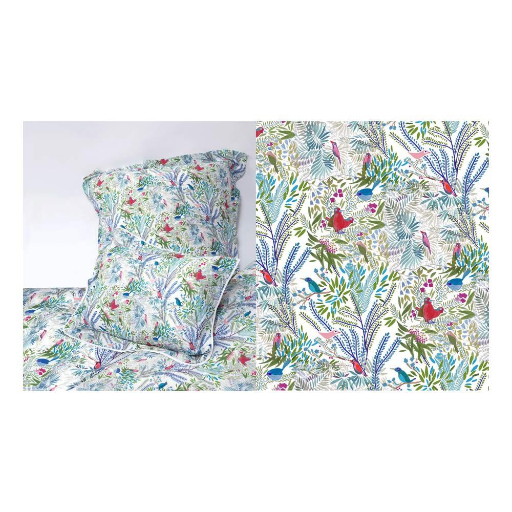 housse de couette jazz mousse multicolore little cabari design. Black Bedroom Furniture Sets. Home Design Ideas