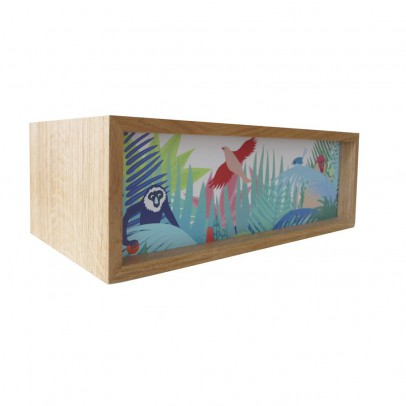 tapis oiseau cardinal rouge little cabari design adolescent. Black Bedroom Furniture Sets. Home Design Ideas