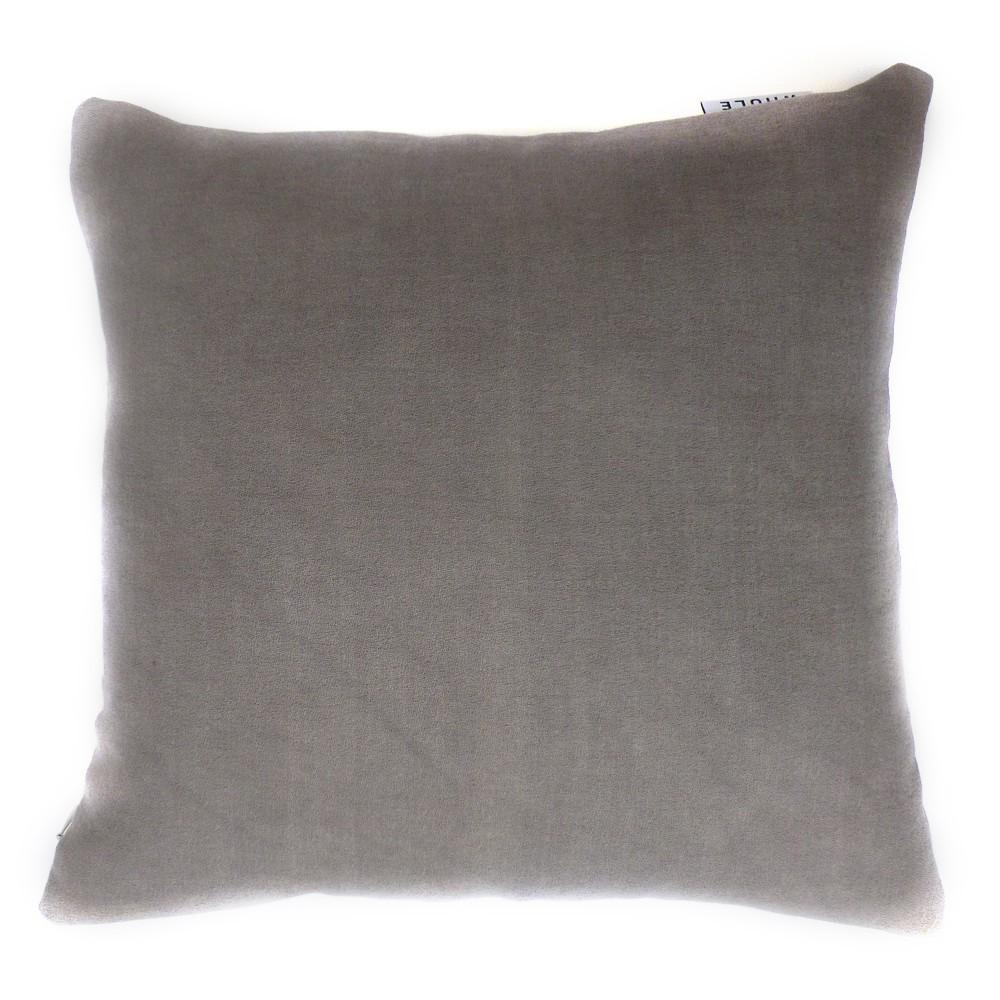 Housse de coussin wako 40x40 cm gris whole design enfant for Housses de coussin 40x40