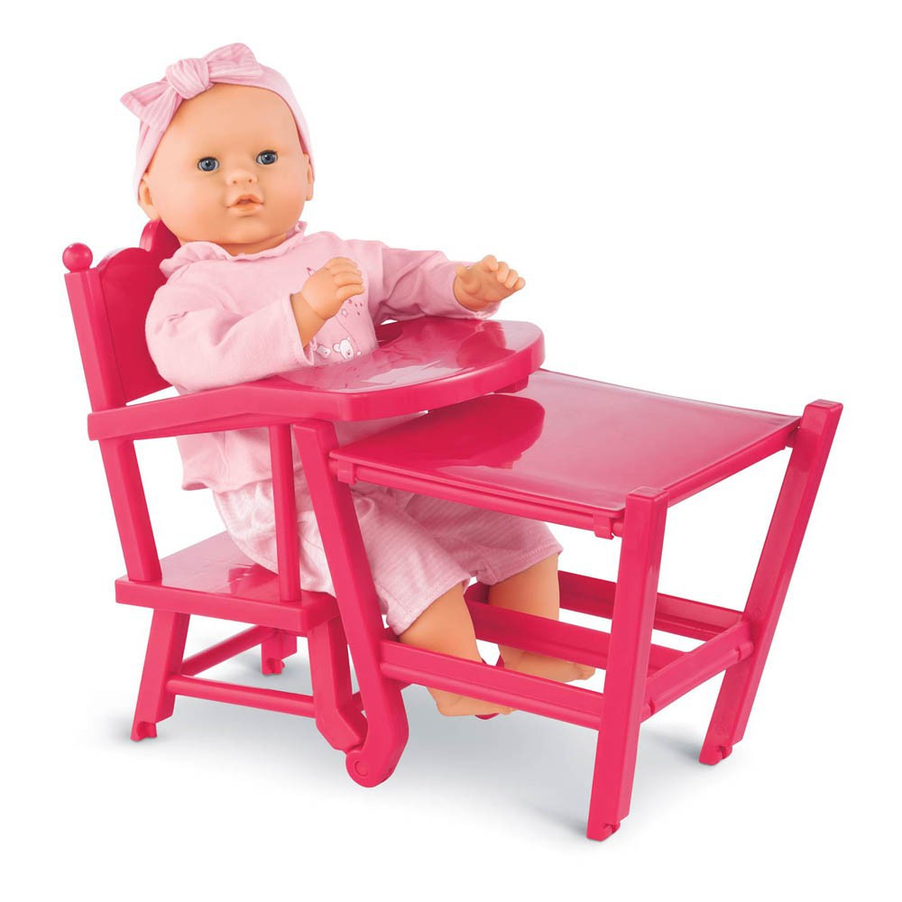 cerise doll high chair pink corolle toys and hobbies teen