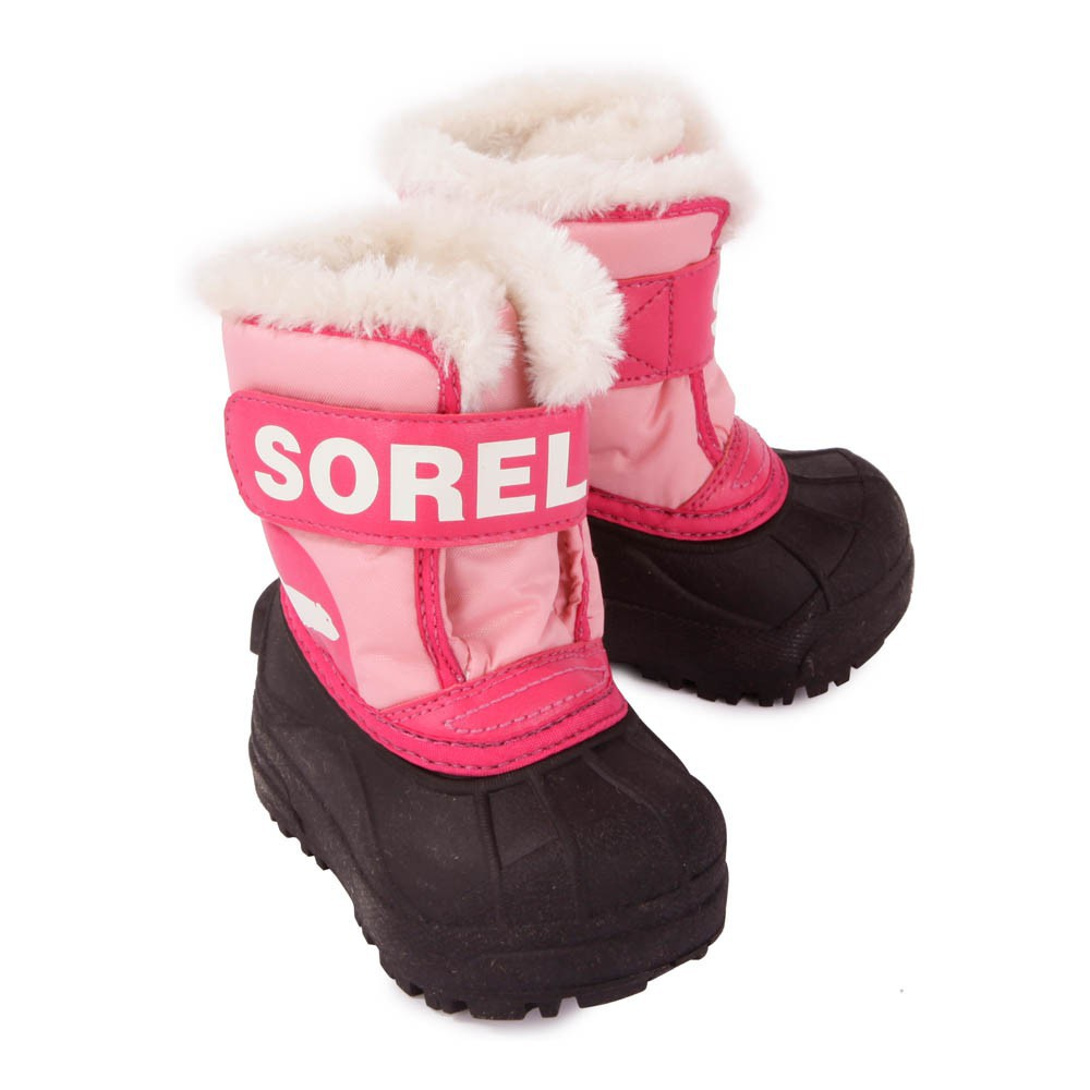 Boots nylon snow commander rose sorel chaussure b b enfant for Commander rose