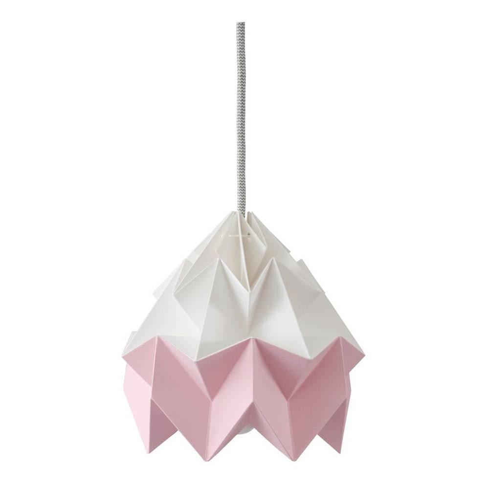 suspension origami moth bicolore rose studio snowpuppe design. Black Bedroom Furniture Sets. Home Design Ideas