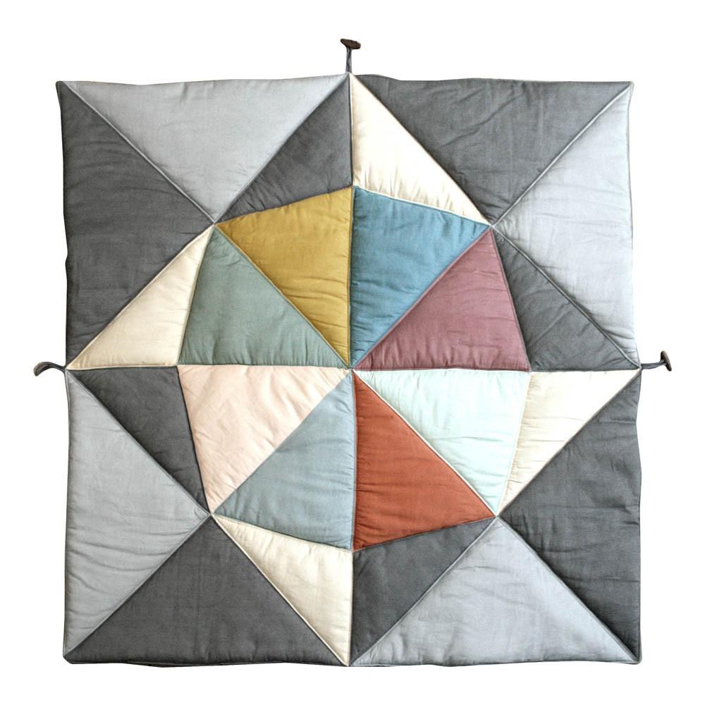 tapis d 39 veil bateau multicolore fabelab jouet et loisir b b. Black Bedroom Furniture Sets. Home Design Ideas