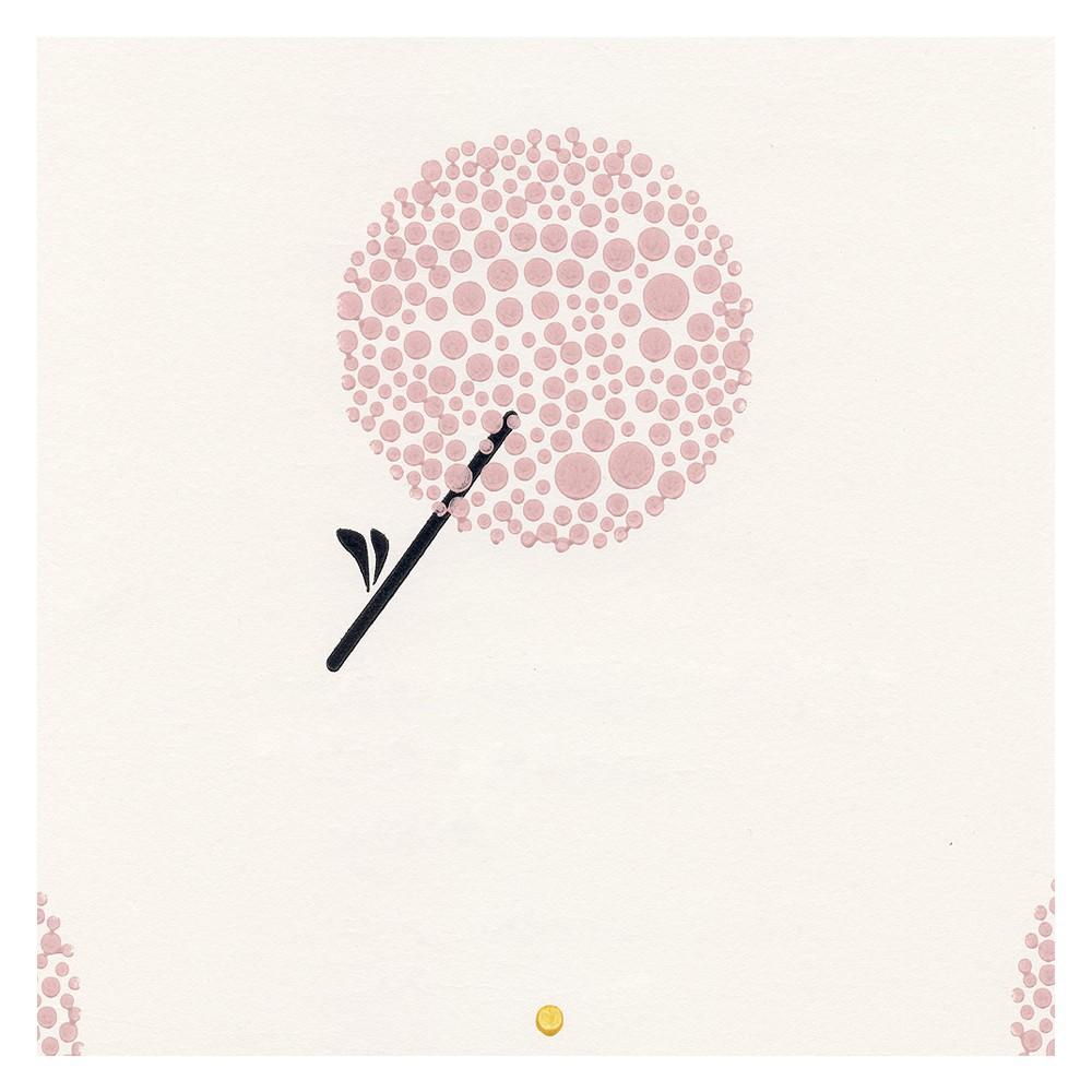 Papier peint libertiti parisien rose santal rose p le rose - Papier peint rose pale ...