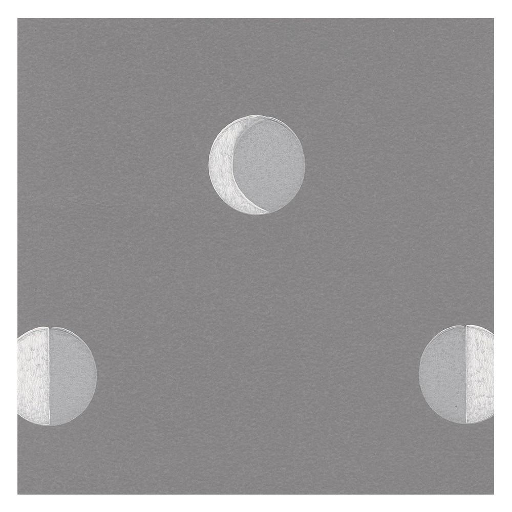 Papier Peint Croissants De Lune Gris Mistigri Bartsch Design