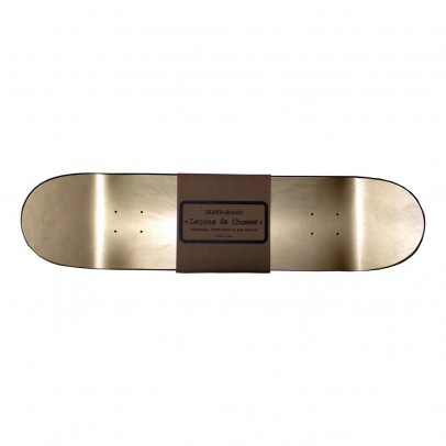 Skateboard Möbel Skateboard Regal Gold