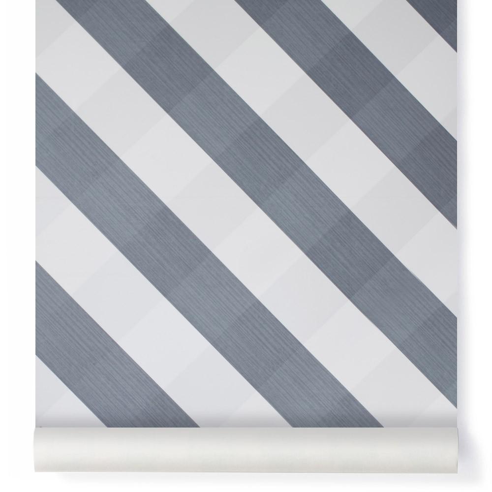 Tarif Maison Neuve : Papier peint Ravissant Vichy Bleu gris Bartsch Design Enfant