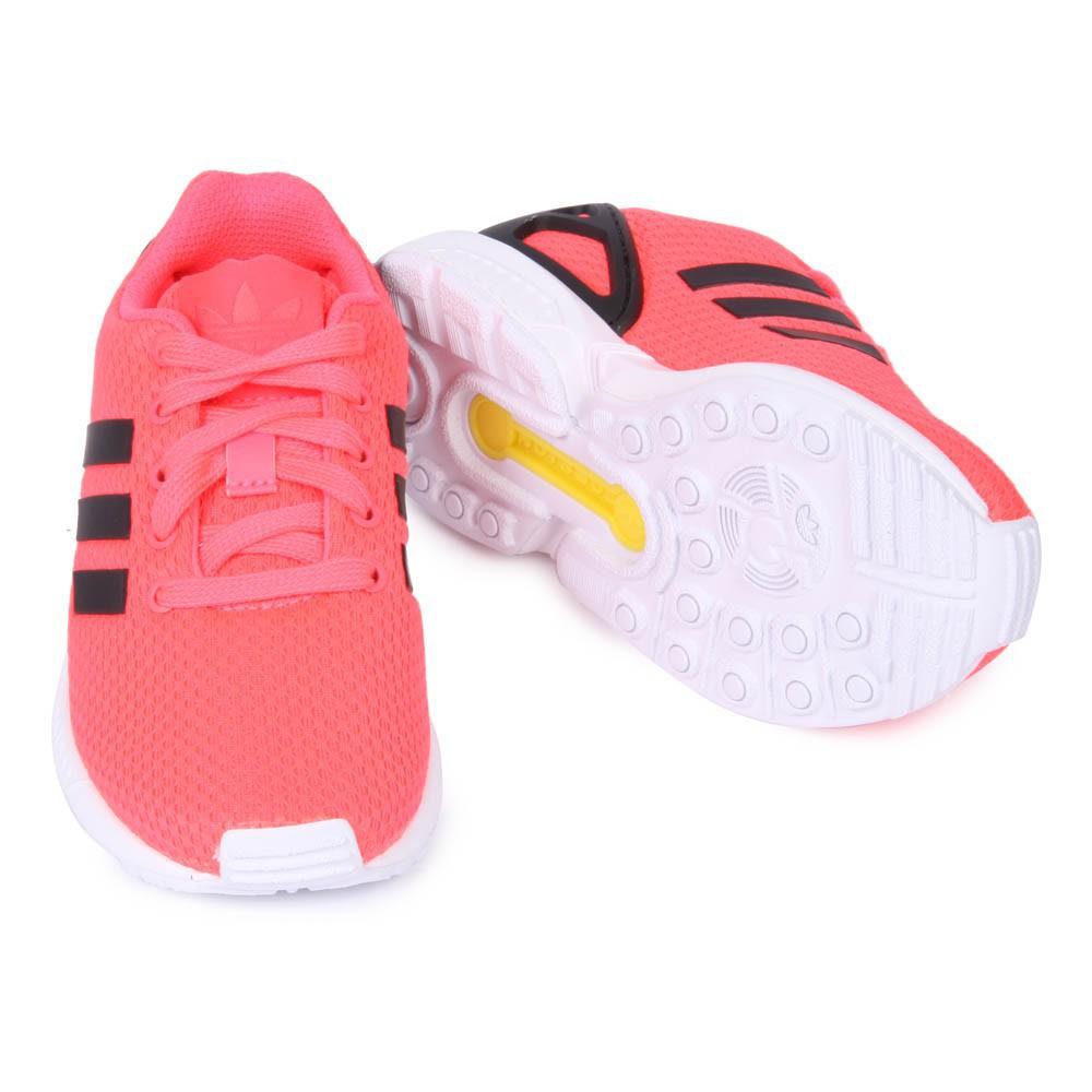 adidas zx flux rose orange