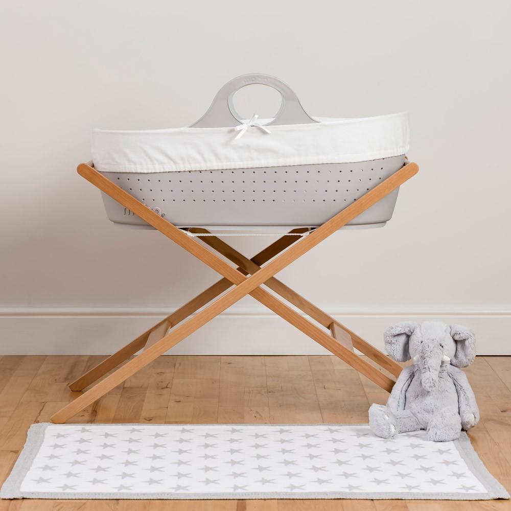 couffin souple en plastique gris moba design b b. Black Bedroom Furniture Sets. Home Design Ideas