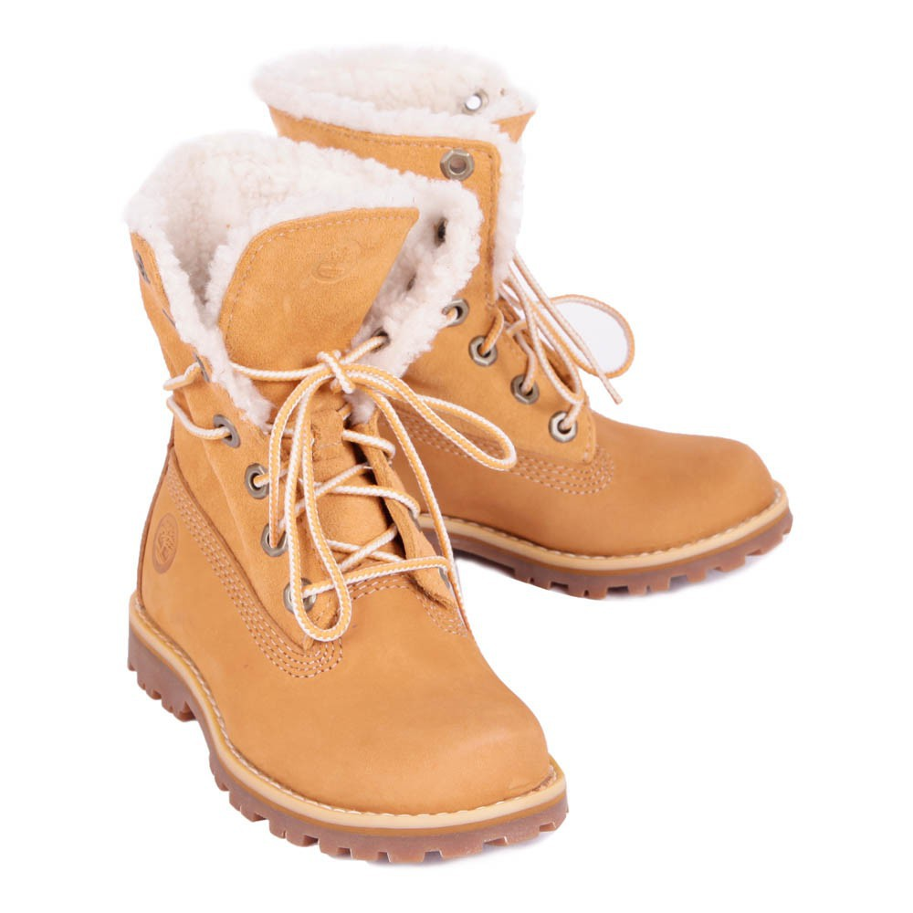 boots lacets fourr es wp camel timberland chaussure adolescent. Black Bedroom Furniture Sets. Home Design Ideas