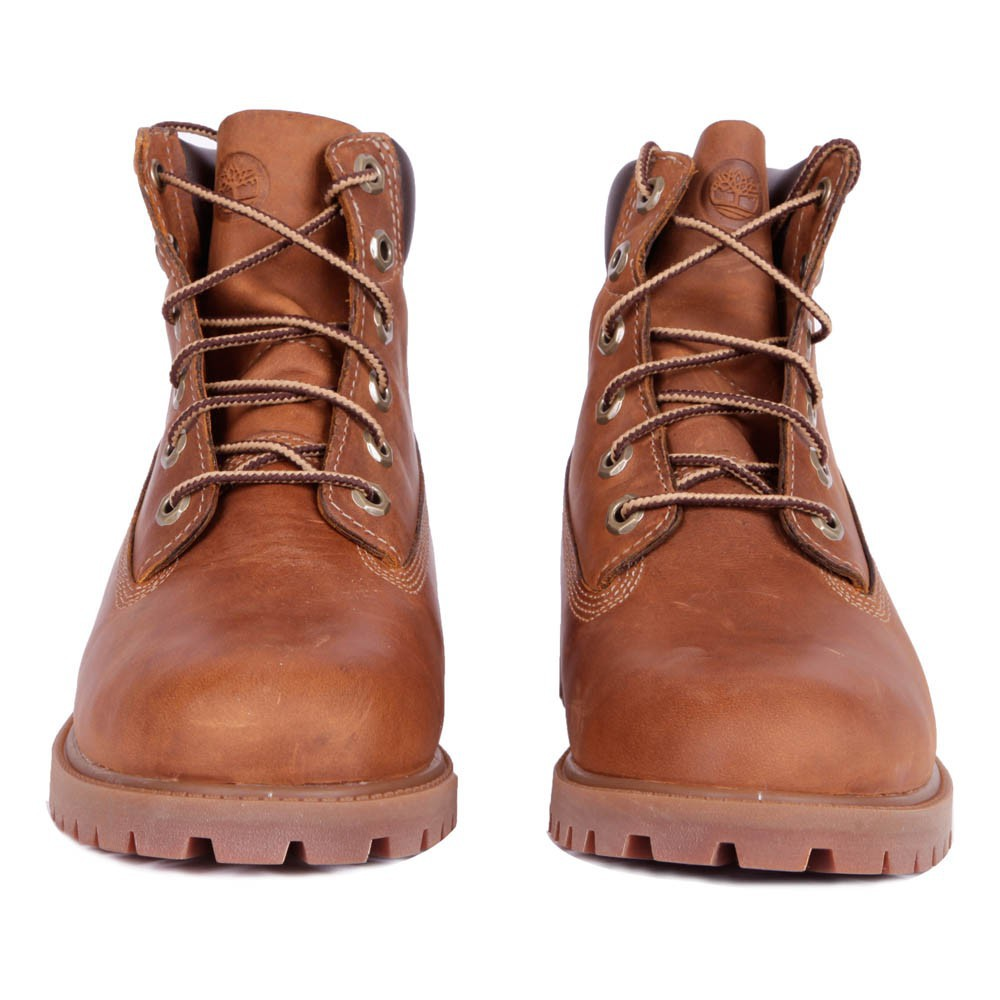 boots lacets authentic rust marron timberland chaussure. Black Bedroom Furniture Sets. Home Design Ideas