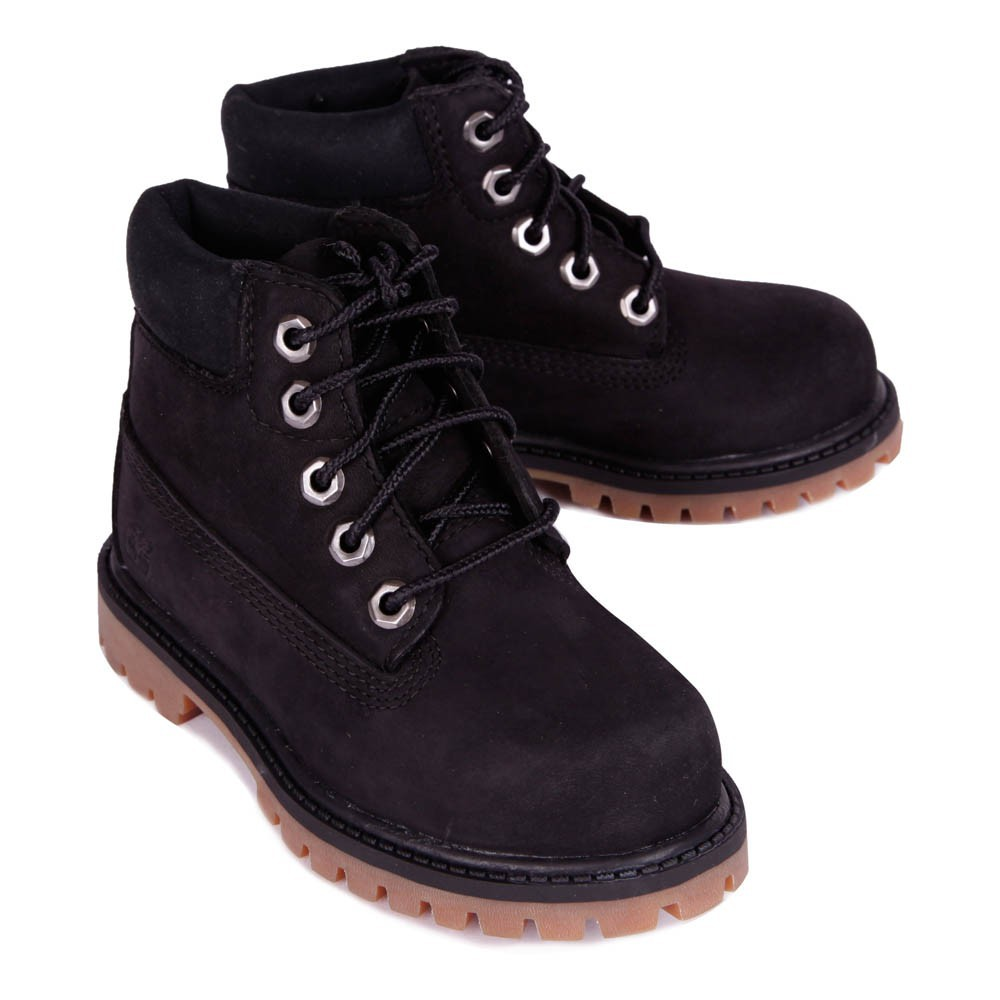 boots lacets premium wp noir timberland chaussure adolescent. Black Bedroom Furniture Sets. Home Design Ideas