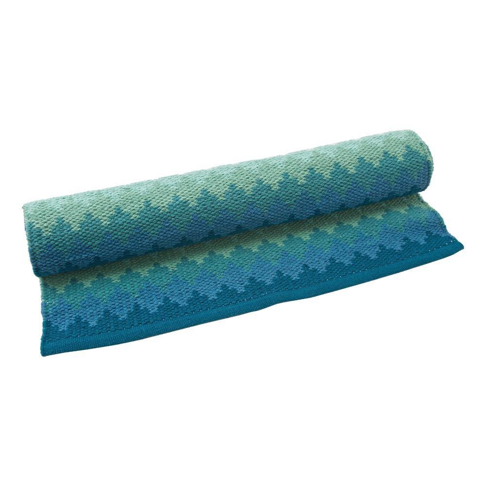 Teppich Batik aus Baumwolle Blaugrün Liv Interior Design