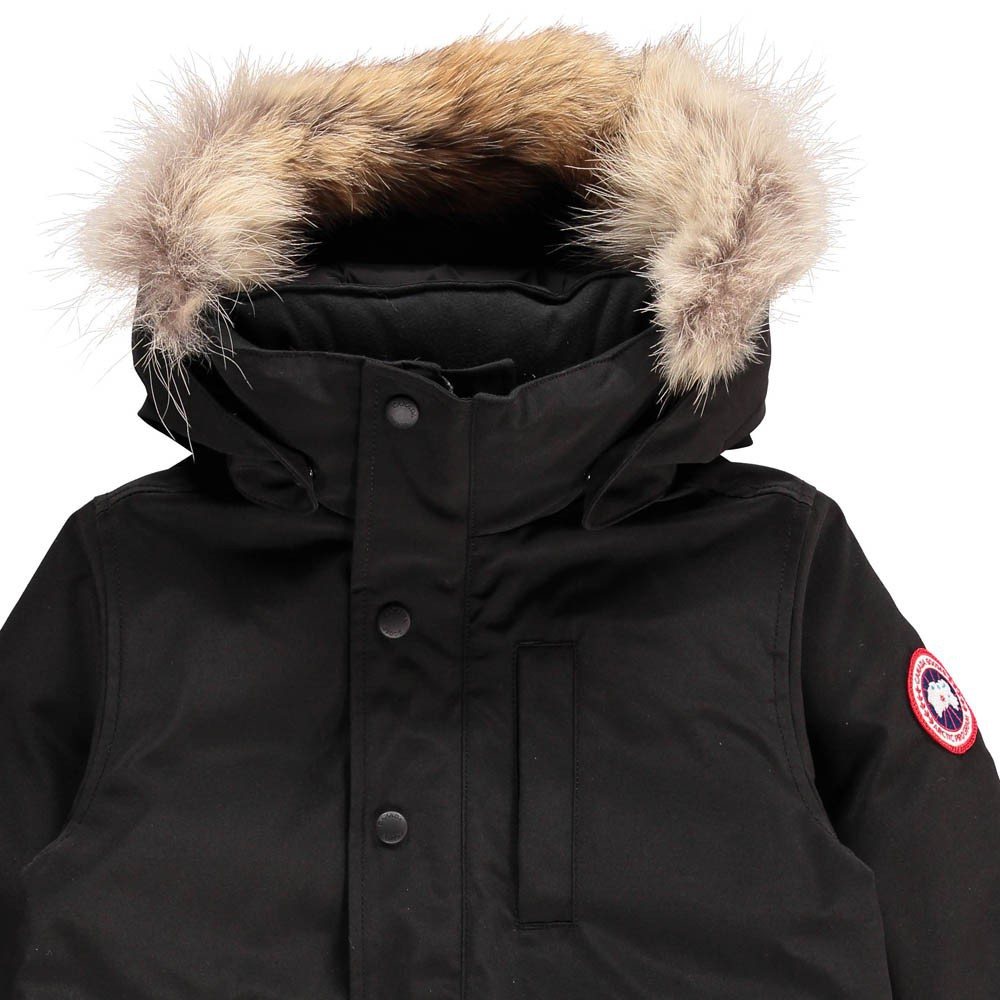 parka logan noir canada goose mode adolescent enfant. Black Bedroom Furniture Sets. Home Design Ideas